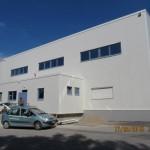 Доставка на високопрофилна покривна ламарина и фасадни панели за разширение на Хамбергер България