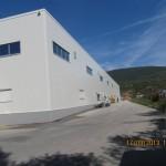 Доставка на високопрофилна покривна ламарина и фасадни панели за разширение на Хамбергер България -2
