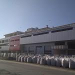 Доставка на гладки фасадни панели на шоурум с автосервиз на Диди 94 в гр. Плевен