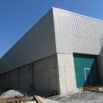 Доставка на гофрирана пластифицирана ламарина за покрив и фасада на складове на Керпи в гр. Павликени-3