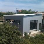Доставка на покривни и фасадни панели за автосервиз в кв. Виница гр. Варна
