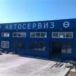 Доставка на покривни и фасадни панели за автосервиз в с. Приселци