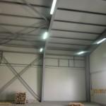 Доставка на покривни и фасадни панели за складова база на Бон ЕООД в гр. Павликени-2