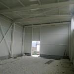 Доставка на покривни и фасадни панели за склад в с. Тополи-3