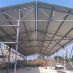 Доставка на покривни и фасадни панели на склад на Технохим