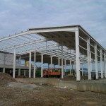 Доставка на покривни и фасадни панели на фабрика за преработка и консервиране на плодове и зеленчуци на Биофрут 2006 в гр. Лясковец