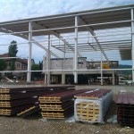 Доставка на покривни и фасадни панели на фабрика за преработка и консервиране на плодове и зеленчуци на Биофрут 2006 в гр. Лясковец-2