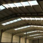 Доставка, на покривни и фасадни панели с полиуретан и поликарбонатни покривни панели за склад в гр. Шумен-2