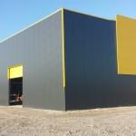 Доставка, на покривни и фасадни панели с полиуретан и поликарбонатни покривни панели за склад в гр. Шумен-3