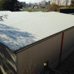 Доставка на покривни и фасадни сандвич панели за автосервиз в гр. Варна 1
