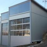 Доставка на покривни и фасадни сандвич панели за автосервиз в гр. Варна
