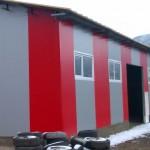 Доставка на покривни и фасадни сандвич панели за склад на Епос флоор в гр. Провадия