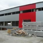 Доставка на покривни и фасадни термопанели за завод за бетонови изделия на Хидрострой АД в с. Тополи