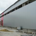 Доставка на покривни и фасадни термопанели за завод за бетонови изделия на Хидрострой АД в с. Тополи-2