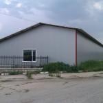 Доставка на покривни и фасадни термопанели за склад на ЕТ Тиасо - Добромир Вълчев в село Добротич