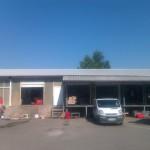 Доставка на покривни панели за реконструкция на стар покрив на ЕТ Съни комерс в к.к Слънчев бряг -2