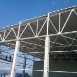Доставка на покривни панели на склад 2 на Бон Марин АД в с. Тополи