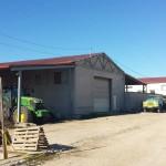 Доставка на покривни сандвич панели за селскостопански складове в с. Межден, община Дулово