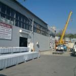 Доставка на покривни термопанели за препокриване на стари складове в ЗПЗ на гр. Варна-2