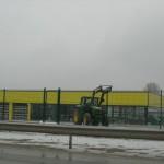 Доставка на покривни, фасадни и поликарбонатни панели за шоурум на Агротрон - М в гр. Търговище -3