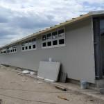 Доставка на покривни, фасадни и преградни панели на свинекомплекс, с. Слънчево