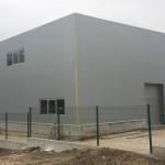 Доставка на покривни, фасадни, пожароустойчиви и поликарбонатни панели за склад със шоурум на магазини ЕЛБА в ЗПЗ на град Варна