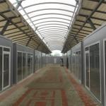 Доставка на стенни панели за пазарни павилиони в гр. Карнобат-2
