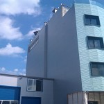 Доставка на фасадни панели за офис сграда на фирма ДАР - 80 в гр. Русе
