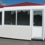 Доставка на фасадни панели за павилиони на пазар в гр. Търговище