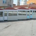 Доставка на фасадни панели за павилиони на пазар в гр. Търговище-2