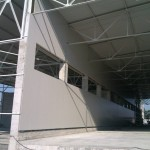 Доставка на фасадни панели на склад 2 на Бон Марин АД в с. Тополи