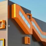 Доставка на фасадни панели с IPN изолация за хлебозавод Симид в гр. София-4