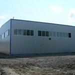 доставка на покривни и фасадни термопанели на НСКФ трейд - завод за кабели в гр. Айтос