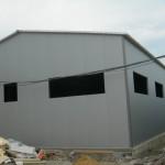 доставка на покривни и фасадни термопанели на автосервиз в гр. Варна