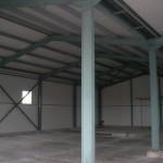 доставка на покривни и фасадни термопанели на автосервиз в гр. Варна-2