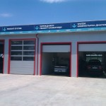 доставка на покривни и фасадни термопанели на автосервиз в гр. Варна-4