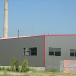доставка на покривни и фасадни термопанели на завод за пожарогасители гр. Белослав-2