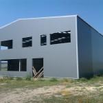 доставка на покривни, фасадни и поликарбонатни панели за склад на Косметикпак в с. Езерово
