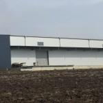 доставка на покривни, фасадни и поликарбонатни панели за склад на Косметикпак в с. Езерово-3