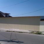 доставка на покривни, фасадни термопанели за цех за закуски на Бай Бисер в с. Близнаци-2