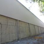 Доставка на гофрирана пластифицирана ламарина за покрив и фасада на складове на Керпи в гр. Павликени-2