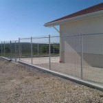 Доставка на оградни пана за конеферма в с. Кичево