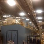 Доставка на панели с минерална вата за изграждане на производствено помещение в Алкомет АД в гр. Шумен