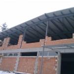 Доставка на покривен сандвич панел 100 мм на разширение на шивашка фабрика на Камберов ЕООД в гр. Горна Оряховица