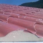 Доставка на покривен термопанел тип керемида за покрив на сглобяема къща в гр. Варна