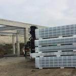 Доставка на покривни и фасадни панели за изграждане на складова база в гр. Варна