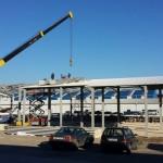 Доставка на покривни и фасадни панели за склад в ЗПЗ в гр. Варна