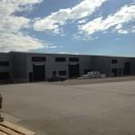 Доставка на покривни и фасадни панели за склад в гр. Варна
