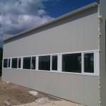 Доставка на покривни и фасадни панели за склад в кв. Аспарухово, гр. Варна