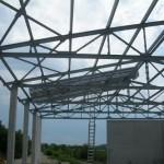 Доставка на покривни и фасадни панели за  склад на Клима комфорт в с. Леденик